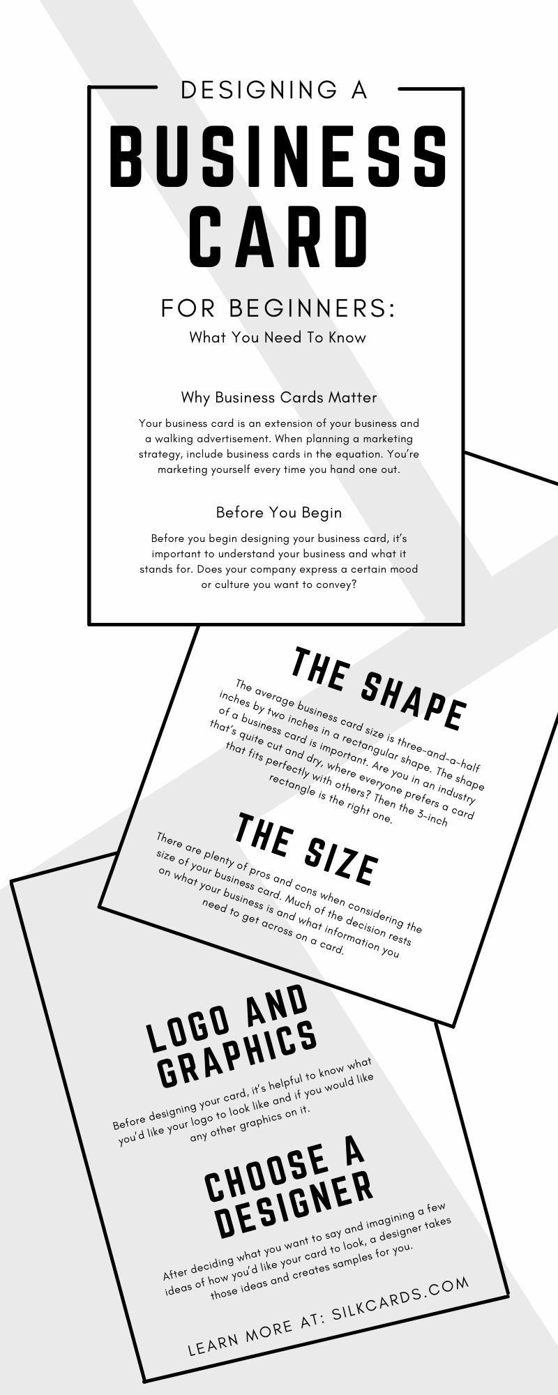 Designing a Business Card for Beginners: What You Need To Know