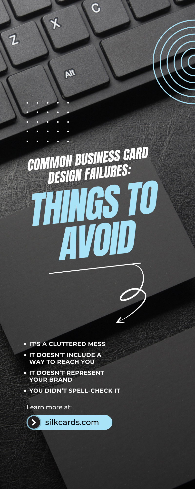 Common Business Card Design Failures: Things To Avoid